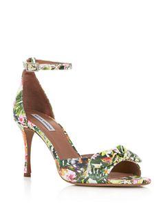 51b56a5d62 Women's Hooper Embellished Satin High Block Heel Sandals. Even More Options  (5). Tabitha Simmons