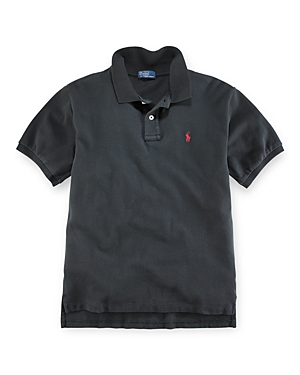 Ralph Lauren Childrenswear Boys Solid Mesh Polo Shirt  Little Kid