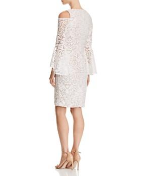 AQUA - Cold-Shoulder Lace Dress - 100% Exclusive