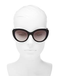 Tory Burch - Women's Cat Eye Sunglasses, 55mm