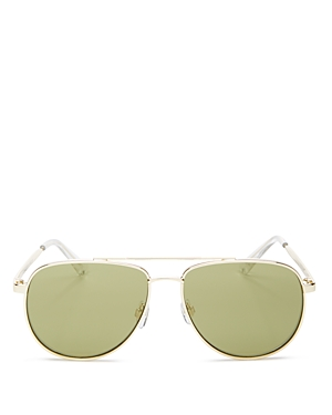 63d98bd30fd Le Specs Women S Hard Knock Flash Mirrored Aviator Sunglasses