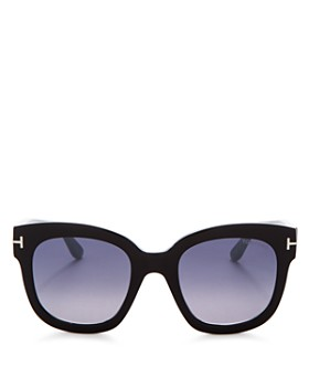 Tom Ford - Women's Beatrix Mirrored Square Sunglasses, 58mm