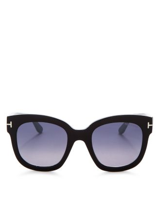 Women's Beatrix Mirrored Square Sunglasses, 58mm by Tom Ford