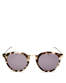 Illesteva - Women's Portofino Round Sunglasses, 48mm