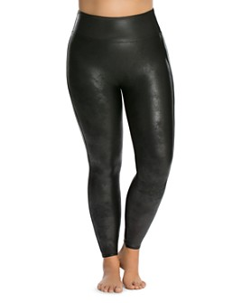 SPANX® - Plus Faux-Leather Leggings