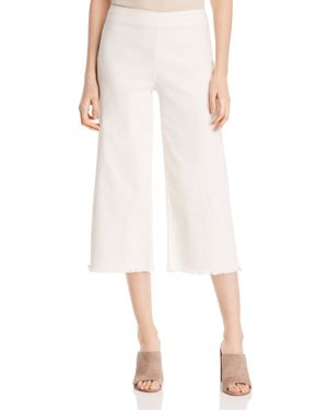 Nic + Zoe Frayed Denim Culottes