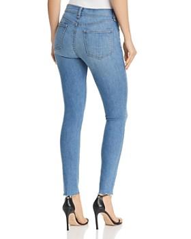 rag & bone/JEAN - High-Rise Raw-Edge Skinny Jeans in Alibi