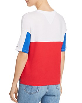 Tommy Jeans - Color-Block Logo Tee