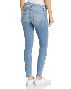 FRAME - Le Skinny De Jeanne Step-Hem Jeans in Westway - 100% Exclusive