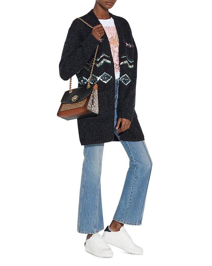 022539f3db706 COACH - Parker Mixed Media Convertible Shoulder Bag