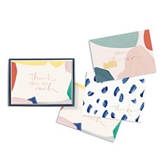 Fringe Studio Canvas Thank You Note Cards - Bloomingdale's_0