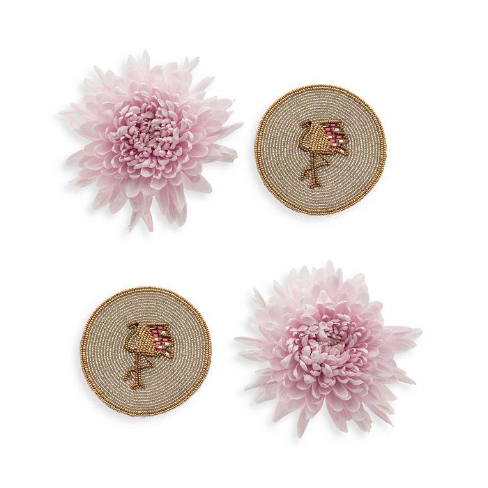 Joanna Buchanan - Flamingo Coasters, Set of 4