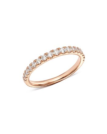 Bloomingdale's - Diamond Shared Prong Stacking Band in 14K Rose Gold, 0.50 ct. t.w. - 100% Exclusive