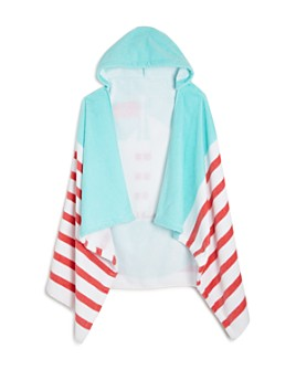 Caro Home - Sailing Kids Hooded Beach Towel