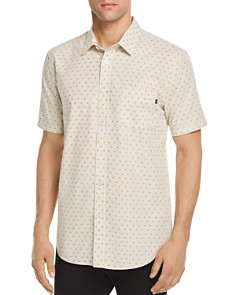 OBEY Dorian Patterned Regular Fit Button-Down Shirt - Bloomingdale's_0
