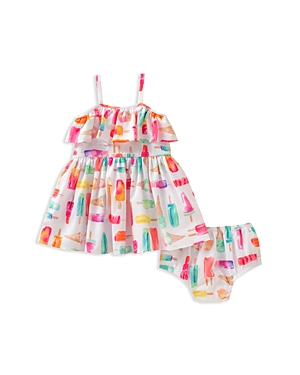 kate spade new york Girls Ice Cream Print Dress  Bloomers Set  Baby