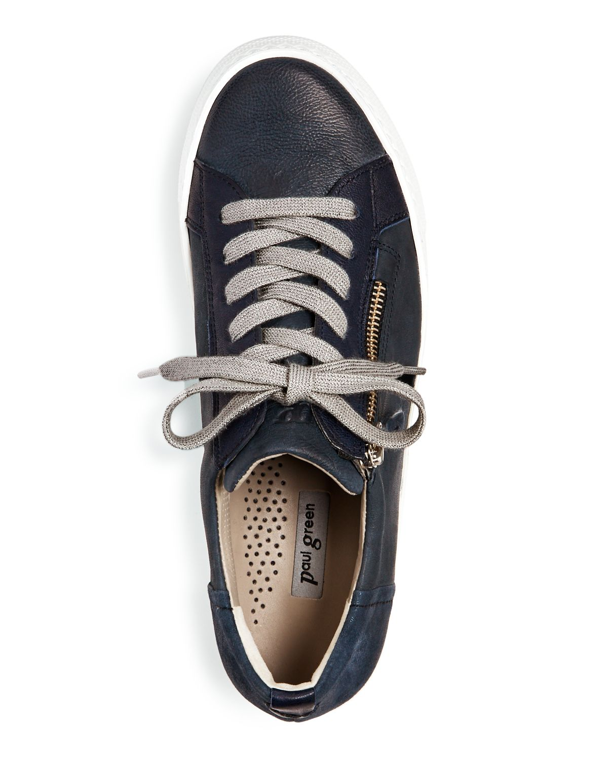 Women's Orleans Tonal Leather Lace Up Sneakers by Paul Green