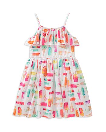 212c384a8 kate spade new york Girls' Ice Pop Print Dress - Little Kid ...