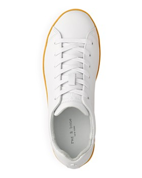rag & bone - Women's Leather Lace Up Sneakers