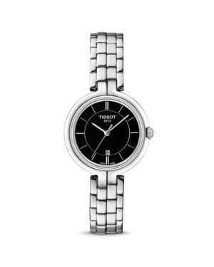 Flamingo Bracelet Watch, 26Mm, Black/Silver