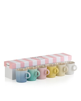 Le Creuset - Sorbet Espresso Mugs, Set of 6