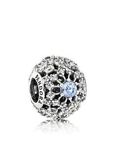 PANDORA Sterling Silver & Cubic Zirconia Disney Cinderella's Wish Charm - Bloomingdale's_0