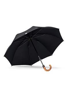 Shedrain - Stratus Collection Manual Stick Crook Umbrella with Malacca Cane Handle