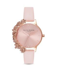 Olivia Burton - Floral Trim Watch, 30mm