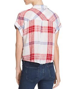 Rails - Amelie Tie-Front Plaid Shirt