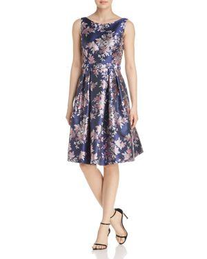 Eliza J Floral Jacquard Dress 2970343
