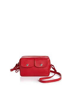 Longchamp - Le Foul Leather Camera Crossbody
