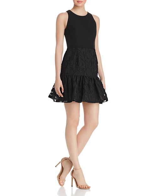 Aidan by Aidan Mattox - Crepe Mini Dress
