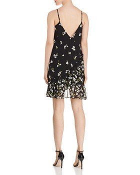 Bardot - Ruffled Floral Print Slip Dress - 100% Exclusive