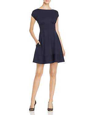 kate spade new york Fiorella Ponte Cap-Sleeve Dress