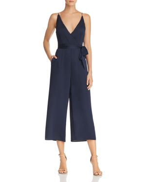 Moonlit Wide-Leg Jumpsuit, Navy