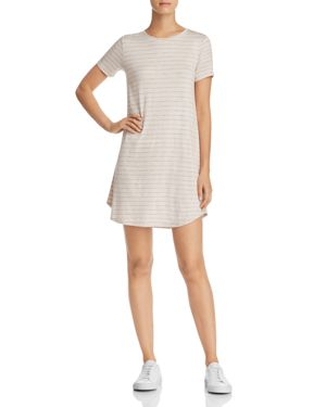SADIE & SAGE STRIPED T-SHIRT DRESS - 100% EXCLUSIVE