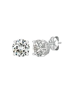 Royal Brilliant Cut Stud Earrings