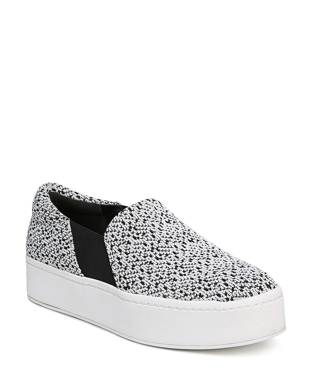Vince Women's Warren Knit Platform Sneakers oyCQwwhvEV