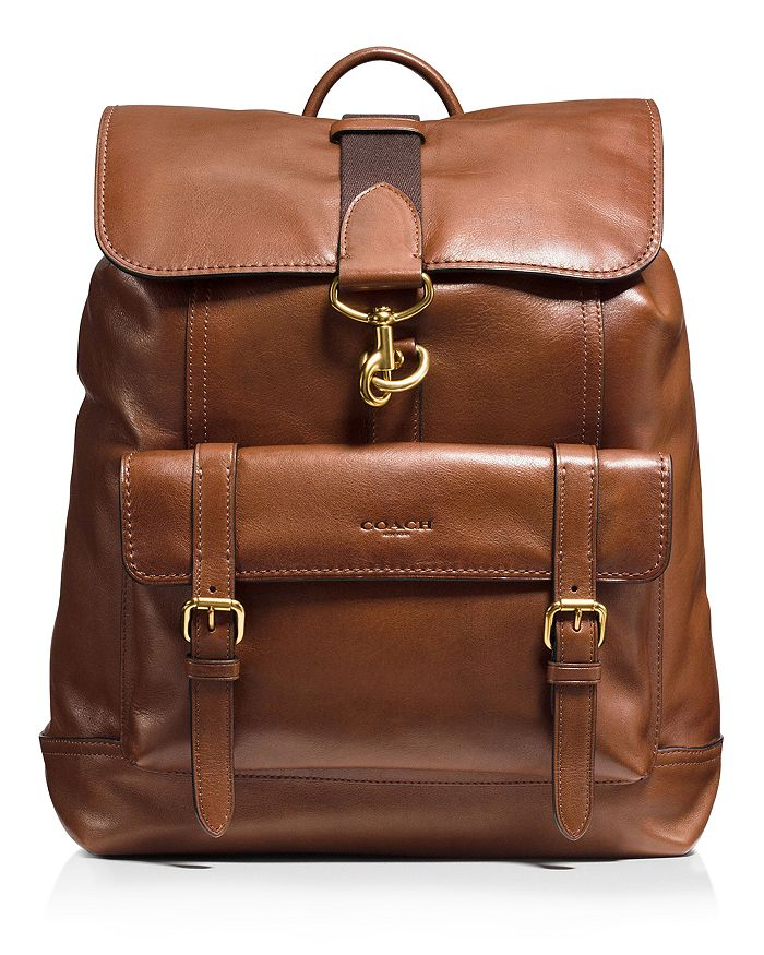 COACH - Bleecker Leather Backpack