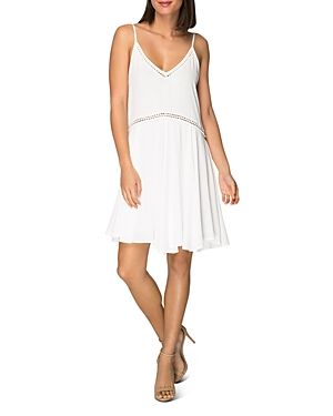 B Collection by Bobeau Betty Sleeveless Embroidered Dress