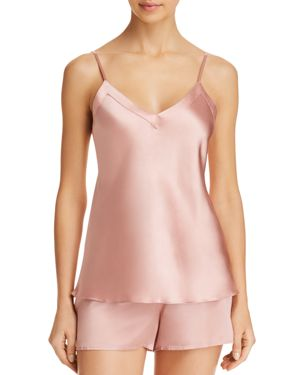 GINIA SILK V-NECK CAMI