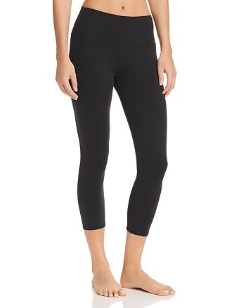 Alo Yoga - Airbrush High-Waist Cropped Leggings