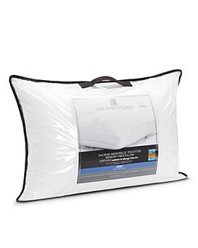 Live Comfortably - Asthma & Allergy Friendly Firm Memorelle Pillow, Standard