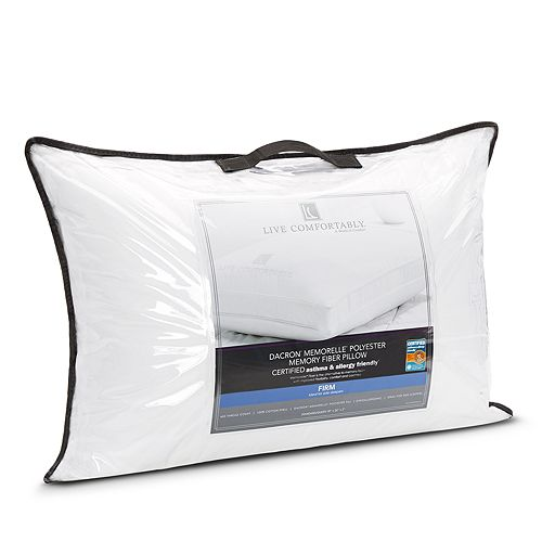 Live Comfortably - Firm Memorelle Pillow, Standard