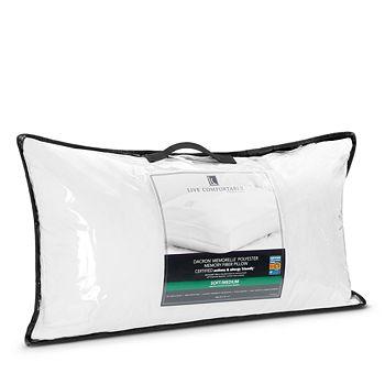 Live Comfortably - Medium Memorelle Pillow, King