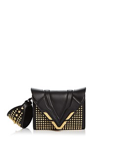 ELENA GHISELLINI - Angel Small Punky Convertible Leather Wristlet