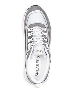A.P.C. - Men's Techno Homme Lace Up Sneakers