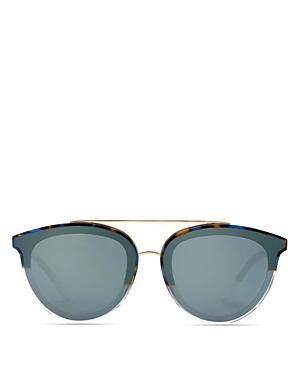 Krewe Clio 24K Mirrored Aviator Sunglasses, 63mm