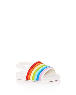Mini Melissa Girls' Mini Slingback Pool Slides - Walker, Toddler