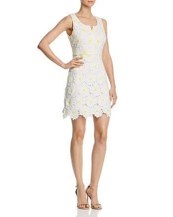 AQUA - Daisy Lace Sheath Dress - 100% Exclusive